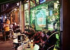 Bar Italia, Frith Street, Soho (I M Roberts) Tags: baritalia frithstreet soho w1 centrallondon italiancoffeeshop streetscene streetphotography urbansetting fujix100s