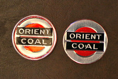 Orient Coal (fregettat) Tags: coal coaladvertising coalmining coalsales scattertag kenallencollection