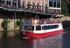 IMGP0706 (mattbuck4950) Tags: england unitedkingdom europe water holidays september boats rivers yorkshire york riverouse citycruises camerapentaxk70 lenssigma18300mm 2019 holiday2019yorkshire