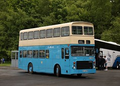 Photo of Preserved China Motor Bus ESF 647W/CH 9399 (LV36) | 2019 SVBM Open May Day | Scottish Vintage Bus Museum, Fife