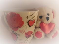 My Love (Hannelore_B) Tags: becher mug teddybär teddybear mugswithwords smileonsaturday