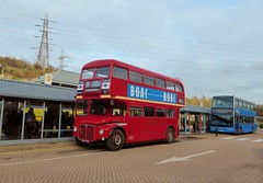 Ensignbus RM1843 (843DYE) - route X81 - Lakeside (Alex-397) Tags: bus buses preserved heritage vintage essex kent