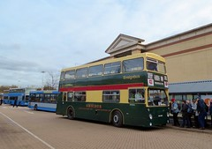 Ensignbus DM2646 (THX646S) - route X81 - Lakeside (Alex-397) Tags: bus buses preserved heritage vintage essex kent