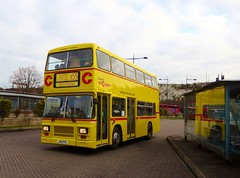 Capital Citybus 250 (J135PVC) - route X55 - Bluewater (Alex-397) Tags: bus buses preserved heritage vintage essex kent