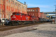 CP 281 at Milwaukee (dlanek) Tags: cp canadianpacific ac4400cwm