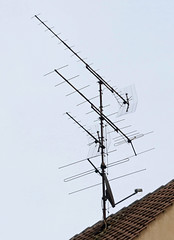 Quedlinburg detail (Schwanzus_Longus) Tags: quedlinburg german germany old classic vintage historic house building antenna tv