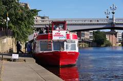 IMGP0822 (mattbuck4950) Tags: england unitedkingdom europe water holidays september boats rivers yorkshire york riverouse citycruises camerapentaxk70 lenssigma18300mm 2019 holiday2019yorkshire