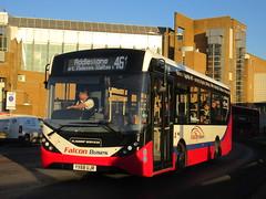Photo of Falcon Buses, Shepperton YX68UJR On Route 461 On Kingston Bridge
