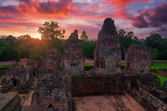 0S1A2837-Enhanced (Steve Daggar) Tags: cambodia siemreap angkorwat angkor angkorarchealogicalpark temple worldheritage sunrise perspective travel asia buddhist