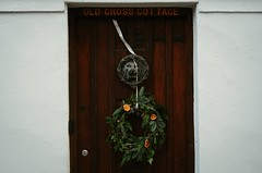 Wreath | Hertford - Fujifilm XT30, Fujinon XF35mm f2 (superlomo) Tags: door hertford wreath christmas hertfordshire fuji xt30 fujifilm xf35mm 35mm