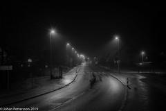 Foggy morning. (johanpettersson63) Tags: trollhättan västragötalandslän sverige blackandwhite