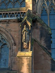 Dr Johnson. Lichfield Cathedral Staffordshire (Scone Face) Tags: britishcathedrals lichfieldcathedral lichfield staffordshire