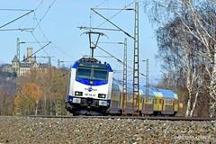 METRONOM 146 502-0 (Artemis & Nikos Klonos) Tags: passengertrain germany deutschland 2018 ak electric br146 me metronom normalgauge burgstemmen
