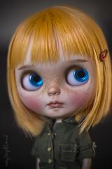 Custom #73 - Commission (Dolly Adventures in the Galland Household) Tags: blythe custom collectibles childhood cute doll dollartistry dollphotography simply mango takara artdoll tmnt ninja turtles mayragallandcustomdolls