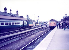 Image00045 (OldRailPics) Tags: lincoln st marks station british railways rail hst 125