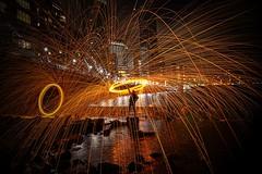 #steelwoolphotography #CanaryWharf PhotoCredit #CashinoNDT #CNDTPhotography #London (cashino) Tags: cndtphotogrphy cashinondt canarywharf canon6d canon teamcanon photography nighttimephotography fullframedslr steelwool