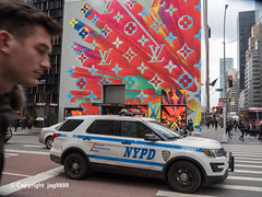 2019 Louis Vuitton Holiday Mural, Midtown Manhattan, New York City (jag9889) Tags: 2019 20191204 5thavenue accessories architecture auto automobile bags building car christmas display facade fashion fifthavenue finest firstresponder ford goods graffiti handbags holiday holidaywindowdisplay house lv lawenforcement louisvuitton luxury manhattan midtown monogram mural ny nyc nypd newyork newyorkcity newyorkcitypolicedepartment outdoor painting people policedepartment policepatrolcar suv sportutilityvehicle storewindow streetart tagging transportation usa unitedstates unitedstatesofamerica vehicle window jag9889