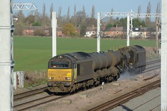 67023 67027 bb Harrowden Jct 301118 D Wetherall (MrDeltic15) Tags: colas class67 67023 rhtt 3j92 67027 harrowdenjunction midlandmainline