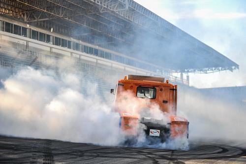 07/12/19 - Muita fumaça e zerinhos do Show Truck da Copa Truck - Fotos: Duda Bairros