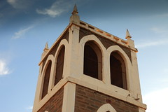 The Bell Tower (Darren Schiller) Tags: church smalltown southaustralia summerfield tepko australia abandoned architecture building bird bell disused decaying peregrinefalcon history heritage tower old religion rural rustic u