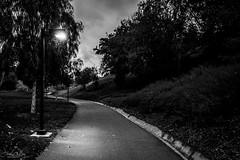 Summit Park at Dusk (Daren Grilley) Tags: valencia santa clarita ca california park parks local city black white bw dusk sunset night nikon z z50 50 1650