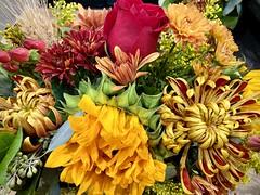 Autumn Bouquet (wjaachau) Tags: abstract nature fallcolors thanksgivingbouquet decoration florals flowers autumnfloral autumnbouquet