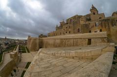 Cittadella (nchavezm) Tags: architecture church oldtown walls history clouds victoria gozo malta