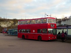 Ensignbus MD60 (KJD260P) - route X55 - Bluewater (Alex-397) Tags: bus buses preserved heritage vintage essex kent