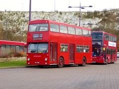 Preserved London Transport DMS550 (MLK550L) - Bluewater (Alex-397) Tags: bus buses preserved heritage vintage essex kent