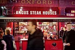 Argyle Street (I M Roberts) Tags: angussteakhouse argylestreet oxfordcircus touriststaple streetscene centrallondon w1 fujix100s