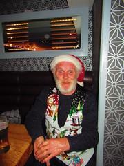 Santa on Holiday! (sam2cents) Tags: santaclaus stnicholas ireland pub inn tavern bar party christmas dublin oconnellstreet