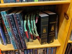 The Lovecraft section at Iliad Bookshop, Burbank, California, USA (gruntzooki) Tags: lovecraft cthulhu iliadbookshop bookselling books hplovecraft burbank california cali cal ca usa fhtagn
