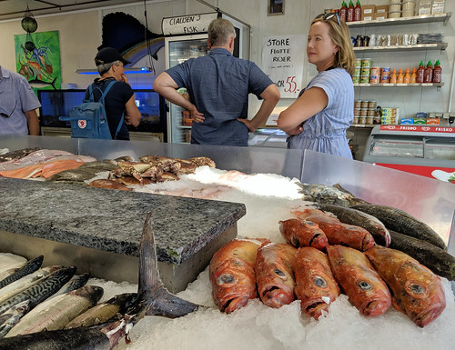 At the fishmonger