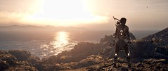 Assassin's Creed  Odyssey Screenshot 2019.12.08 - 10.08.25.09 (sorinutz) Tags: water landscape sun tree rock mountain