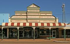 butchers-shop (dwetherley) Tags: shops pentaxart cobar cheapsidebutchery