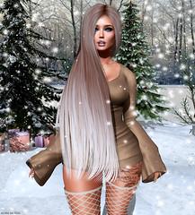 Christmas carol (sᴇɴᴅ ɪᴛ!) Tags: secondlife sl cynful catwa carol christmas snow moon shey