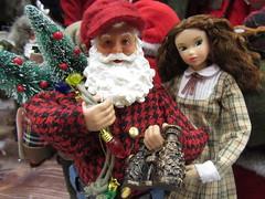 Job Applicant2 (annesstuff) Tags: annesstuff doll fashiondoll momoko santaclaus santa christmas