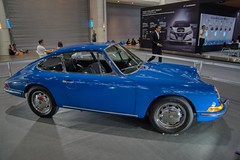 Blue Porsche 912 classic car at the 36th Thailand International Motor Expo 2019 at IMPACT Challenger hall in Muang Thong Thani, Nonthaburi, Thailand (UweBKK (α 77 on )) Tags: 36th thailand international motor expo 2019 impact challenger hall muang thong thani nonthaburi bangkok auto car automobile automotive exhibition show southeast asia sony alpha 77 slt dslr blue porsche 912 classic vintage oldtimer luxury sports club
