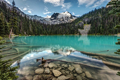 JOFFRE LAKES (PIERRE LECLERC PHOTO) Tags: joffrelakes middlejoffrelake joffrelakesprovincialparkbritishcolumbia canada bc turquoiselake turquoise water reflection nature naturalbeauty matierglacier mountjoffre hiking hike forest wilderness rocks logs glaciers beautiful supernatural outdoors travel explore pierreleclercphotography blue morning calm mountains canadian
