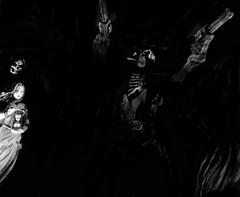 Down Among The Dead Men No.3 (spratpics) Tags: photographybypaulwalker paulwalker teesside uk blackandwhite monochrome darkart artisticphotography downamongthedeadmen seastories ghoststory ghost pirates spooky supernatural