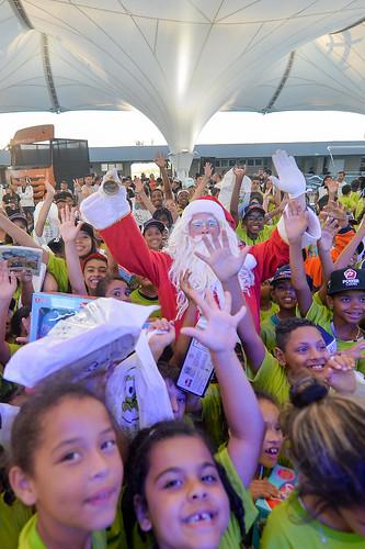 07/12/19 - A emoção da chegada do Papai Noel na Copa Truck - Fotos: Duda Bairros