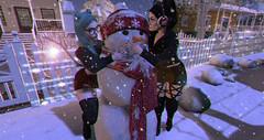 64.} Frosty the snowman.    #AdamsPhotoChallenge (Jessika Talon) Tags: adam lavell