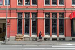 Cycle World, Cumberland St. at Stuart St., Dunedin, New Zealand, 11.45 AM Thurs. 5 Dec. 2019 (mark_mcguire) Tags: dunedin dunedinnz newzealand nz dunnerstunner streetphotography urbanphotography canpubphoto sonya7iii sony55mm