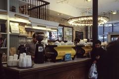 Toronto, Canada (Deguomi) Tags: kodak slidefilm e100 leica m6 summicron235 coffee brunch toronto canada