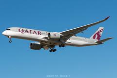 Qatar Airways A350-941 A7-ALF (José M. Deza) Tags: 20190110 a350941 a7alf airbus bcn boeing elprat lebl planespotting qatarairways spotter aircraft
