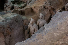 Terracota Warriors (E. Aguedo) Tags: terracorta warriors statue xian china asia history museum clay mud ancient travel tourism old