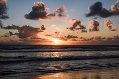 Winter sunset (EMcIsaac) Tags: huntington california beach sunset sun clouds winter sand reflection