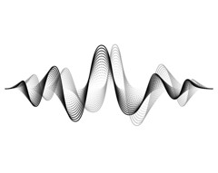 Sound wave vector background. Audio music soundwave. Voice frequency form illustration. Vibration beats in waveform, black and white color. Creative concept (1025ywk) Tags: wave sound vector music radio voice player line beat form pulse electronic signal audio volume soundwave waveform frequency white abstract motion black modern digital design pattern background creative graph concept curve effect futuristic equalizer illustration track quiet technology spectrum symbol song sonic stereo level record microphone tune element speaking vibration