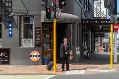 The Law Courts Hotel, 53 Stuart St., Dunedin, New Zealand, 10.50 AM Thurs. 5 Dec. 2019 (mark_mcguire) Tags: dunedin dunedinnz newzealand nz dunnerstunner streetphotography urbanphotography canpubphoto sonya7iii sony55mm