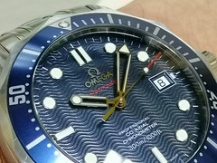 IMG_20191208_100702 (imranbecks) Tags: omega seamaster smp diver 300m 222080 daniel craig james bond 007 casino royale watch watches 2500 coaxial wave wavy blue dial